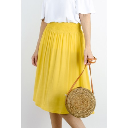 Masai Clothing Sanne Skirt - Yellow