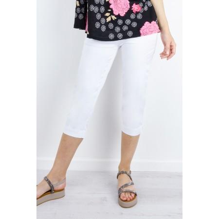 Masai Clothing Peach Capri - White