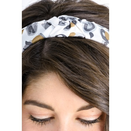 Tutti&Co Leopard Headband - Multicoloured