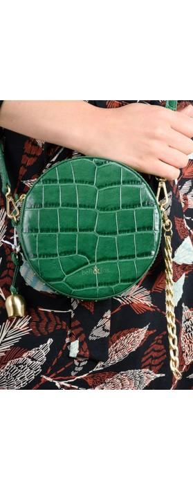 Bell & Fox MIA Small Canteen Cross Body Bag Holly Green