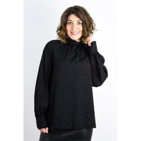 Expresso Koko Star Print Blouse - Black