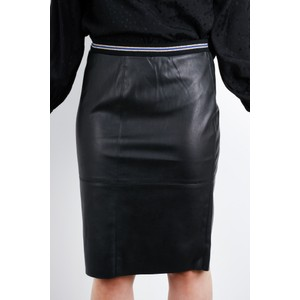 Expresso Koreen Faux Leather Skirt