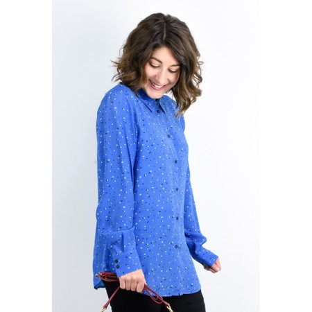 Expresso Kees Printed Blouse - Blue