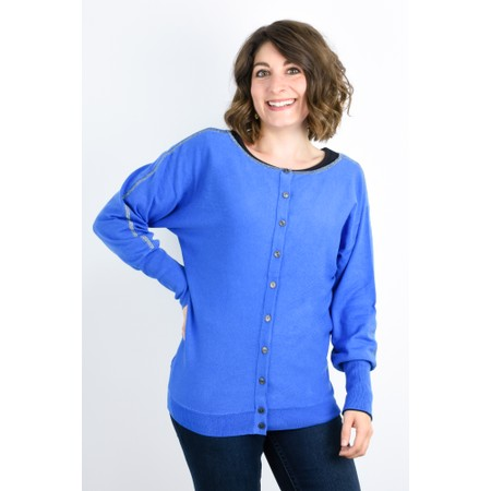 Expresso Karo Two Way Jumper - Blue