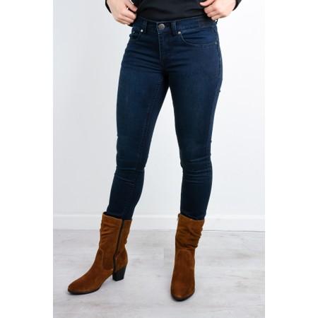 Foil Lucy Girlfriend Jeans - Blue