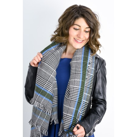 Expresso Kimber Check Scarf - Multicoloured