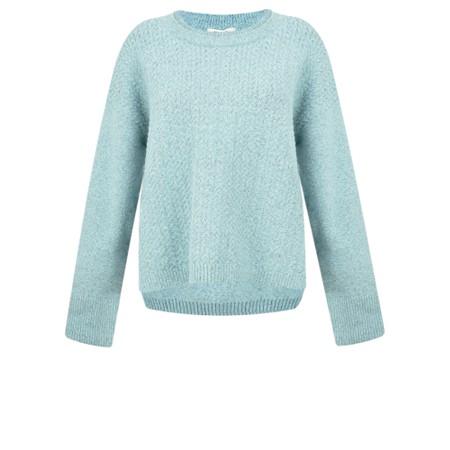 Sandwich Clothing Herringbone Knit Jumper - Blue