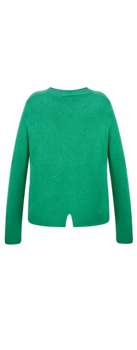 Sandwich Clothing Round Neck Detail Jumper Apple