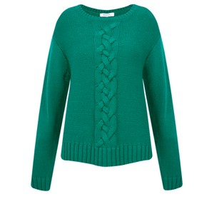 Sandwich Clothing Chunky Cable Knit Jumper