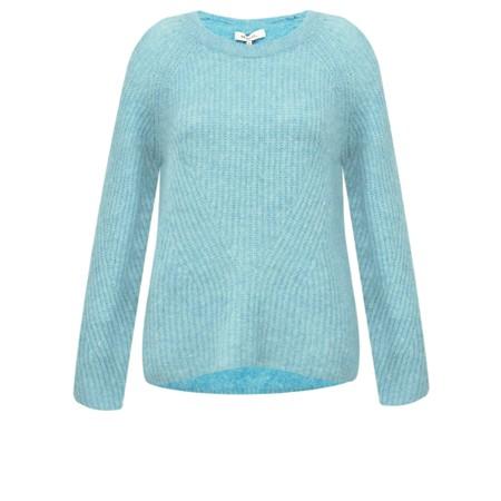 Sandwich Clothing Chunky Knit Jumper - Blue