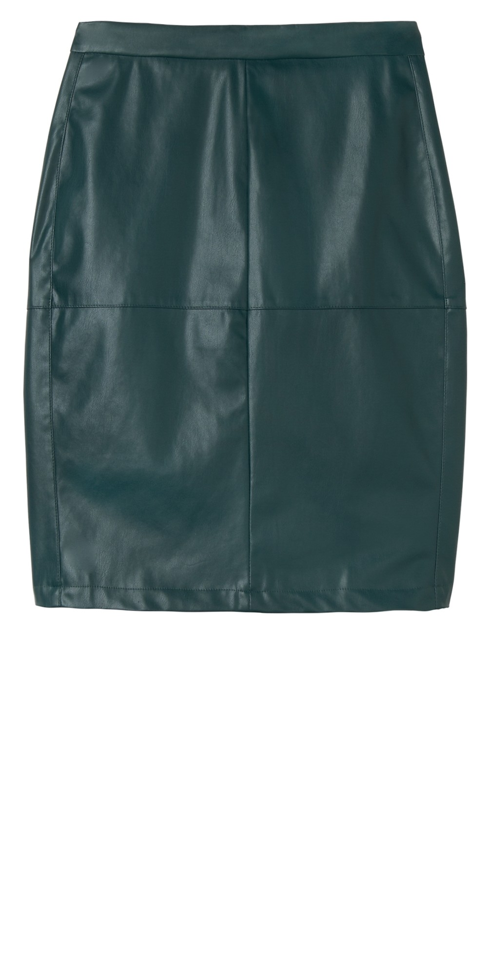 Faux Leather Pencil Skirt  main image