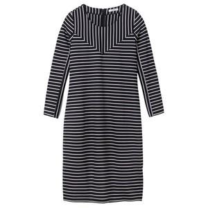 Sandwich Clothing Striped Print Jersey Dress
