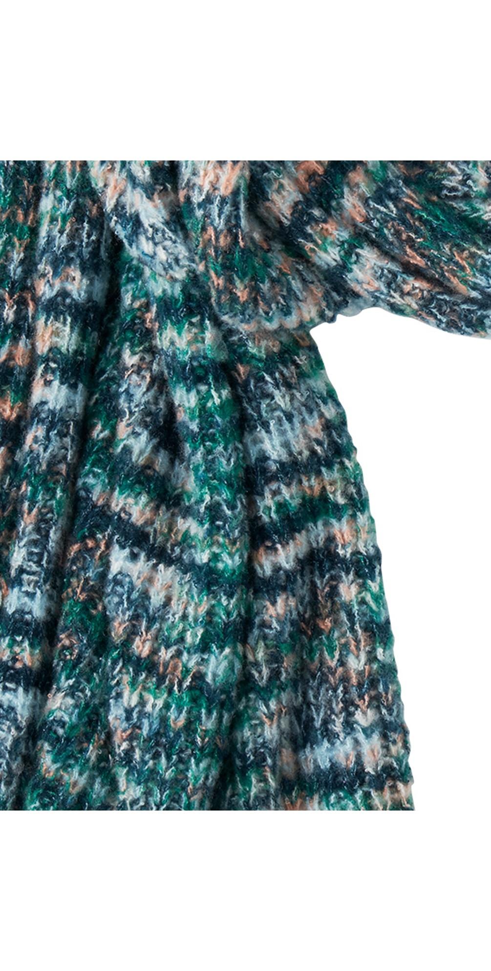 Chunky Knit Multi Scarf  main image