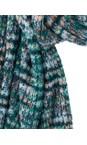 Sandwich Clothing Emerald Chunky Knit Multi Scarf