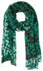 Sandwich Clothing Apple Floral Print Two Tone Scarf