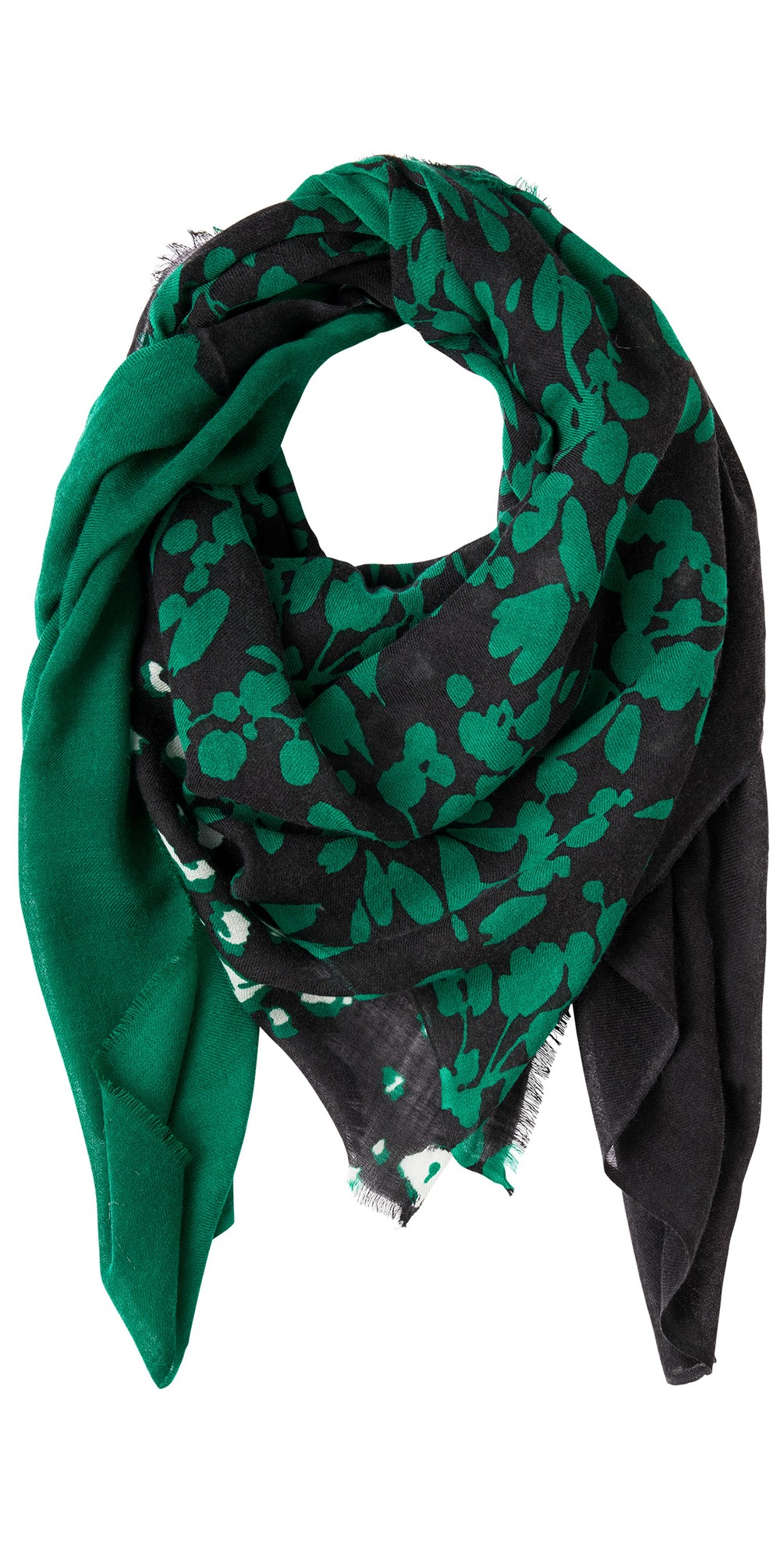 Oversized Block Multi Print Scarf main image