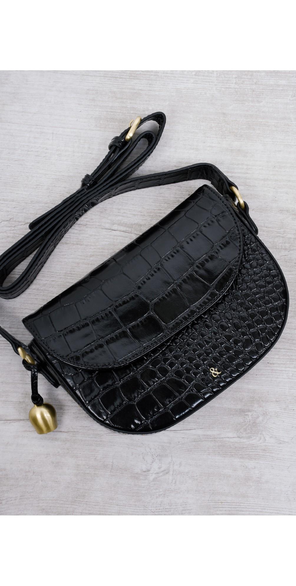 Callie Mini Saddle Cross Body Bag main image