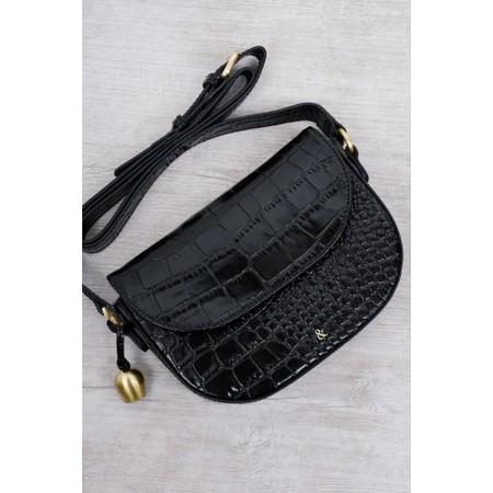 Bell & Fox Callie Mini Saddle Cross Body Bag - Black