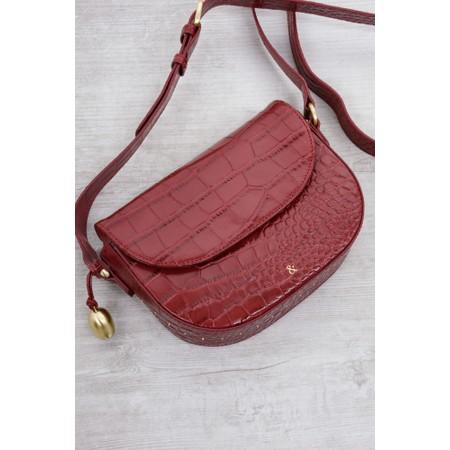 Bell & Fox Callie Mini Saddle Cross Body Bag - Red