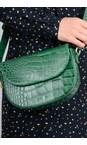 Bell & Fox Holly Green Callie Mini Saddle Cross Body Bag