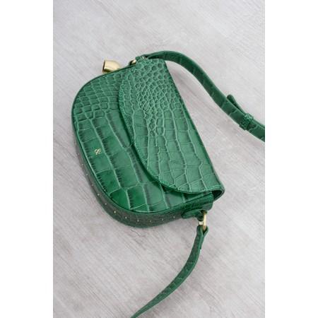 Bell & Fox Callie Mini Saddle Cross Body Bag - Green