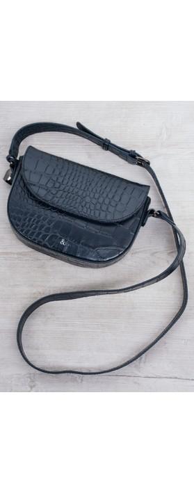 Bell & Fox Callie Mini Saddle Cross Body Bag Navy