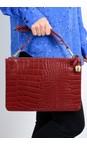 Bell & Fox Garnet Gia Oversized Clutch/Cross Body Bag