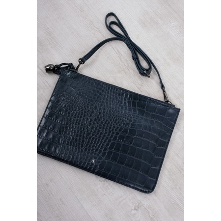 Bell & Fox Gia Oversized Clutch/Cross Body Bag - Blue