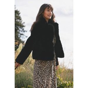 RINO AND PELLE Juna Faux Fur Easyfit Coat