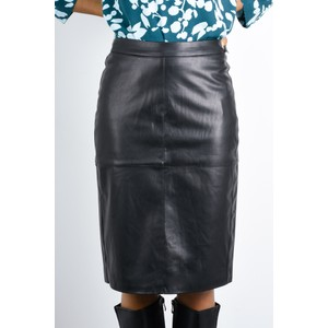 Sandwich Clothing Faux Leather Pencil Skirt