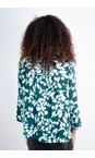Sandwich Clothing Emerald Bold Floral Top