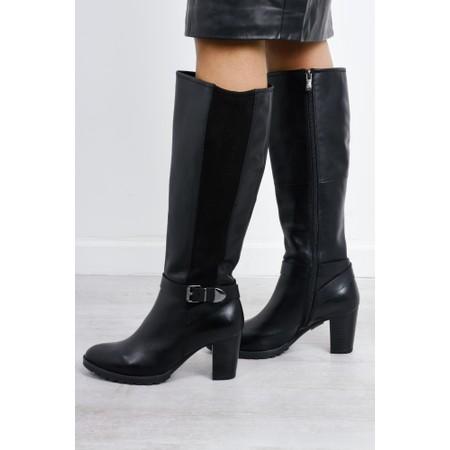 Caprice Footwear Nicole Long Boot - Black