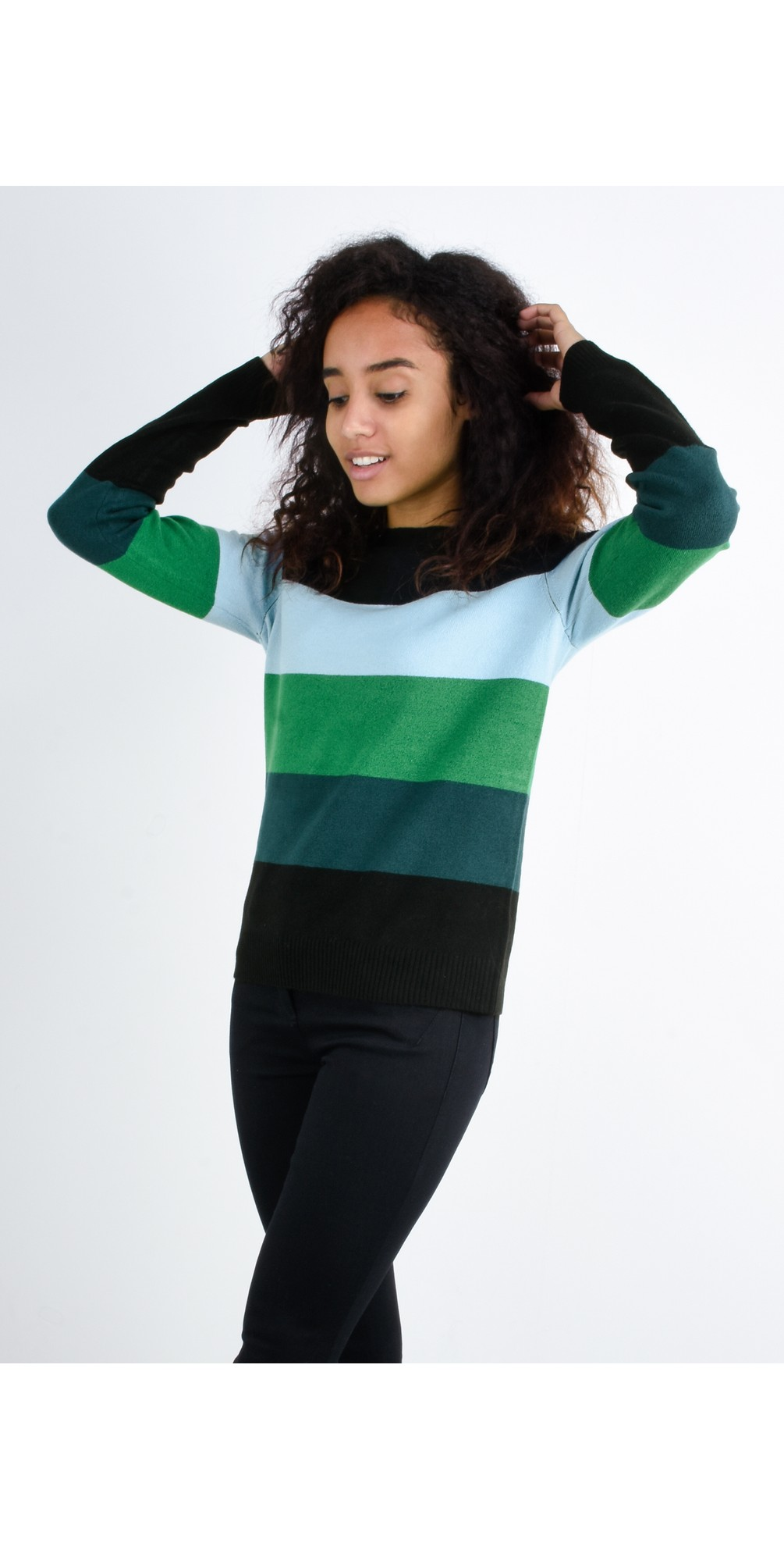 Stripe Print Jumper main image