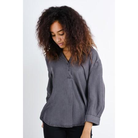 Sandwich Clothing Tencel Denim Easyfit Shirt - Grey