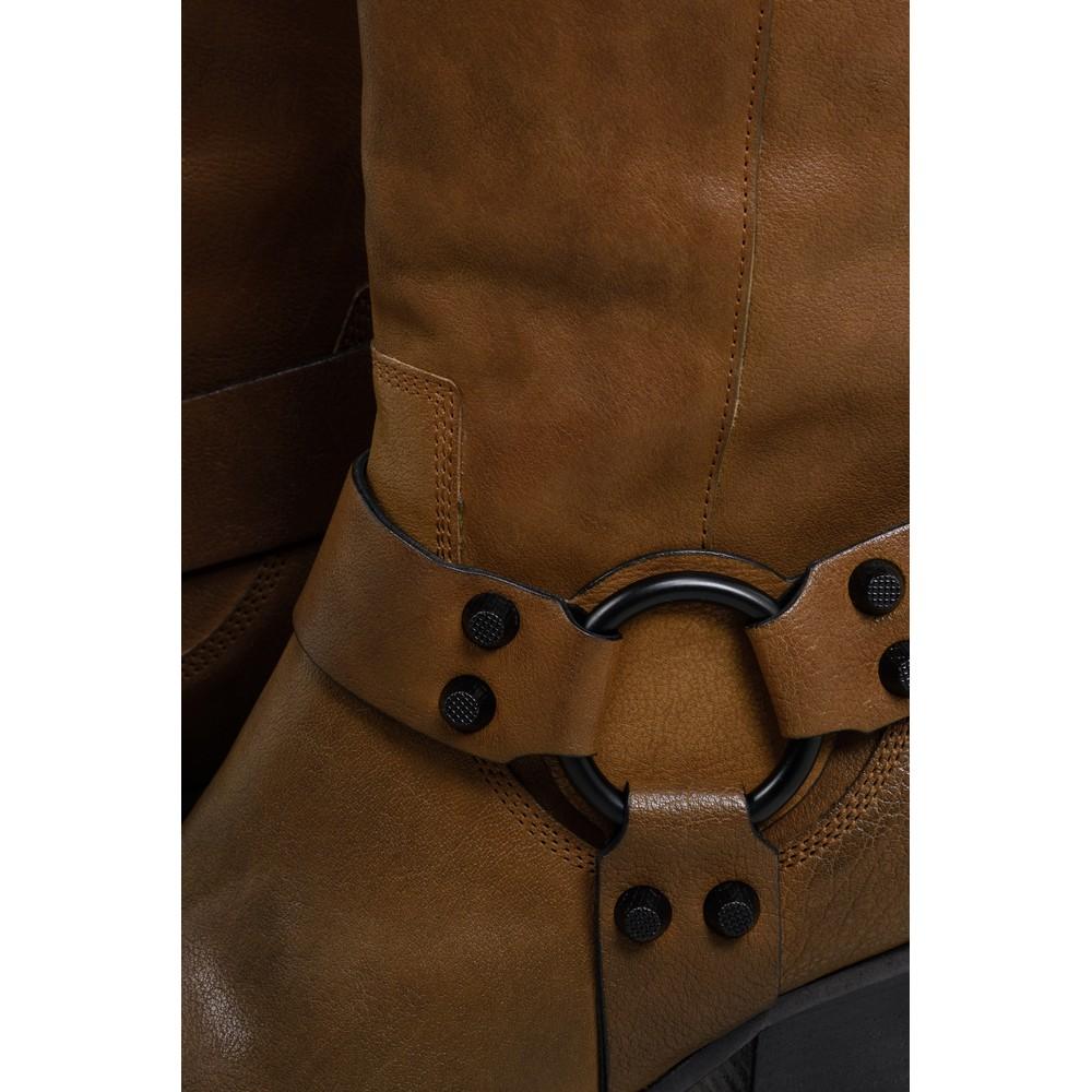 Kennel Und Schmenger Luna Long Western Boot - Premium Collection Cognac