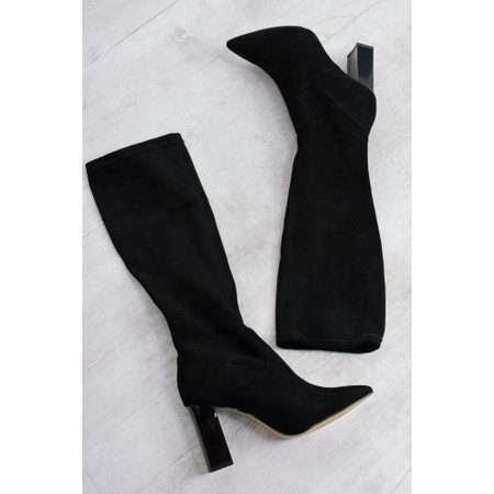 Caprice Footwear Lola Stretch Pull On Boot - Black