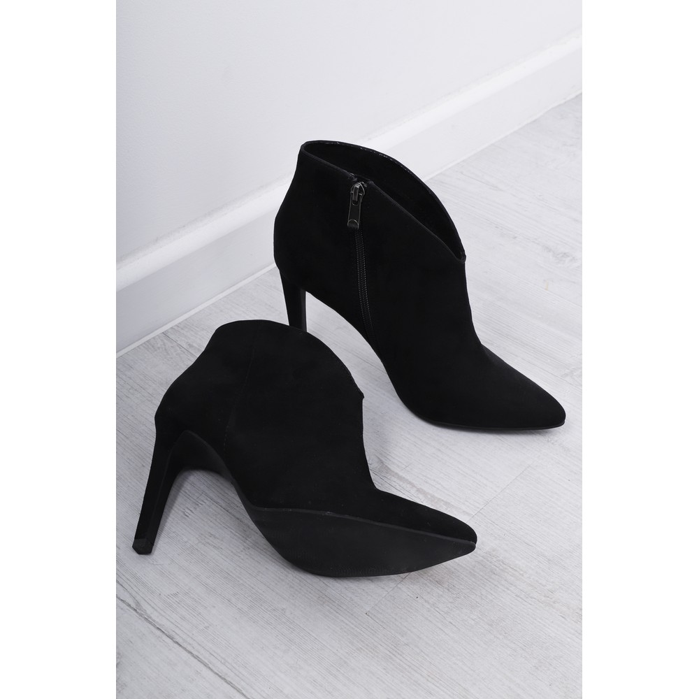 Marco Tozzi Metato High Heel Ankle Boot Black