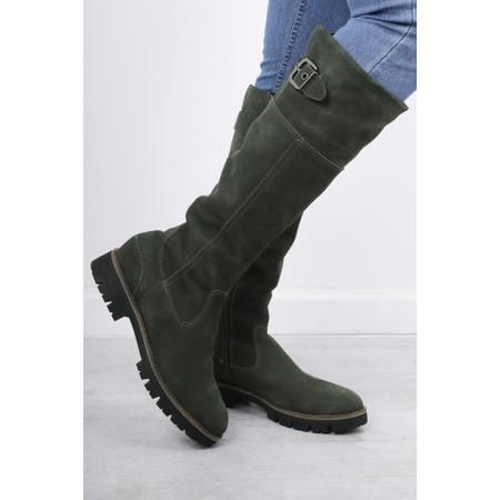 Caprice Footwear Helena Long Casual Boot - Brown