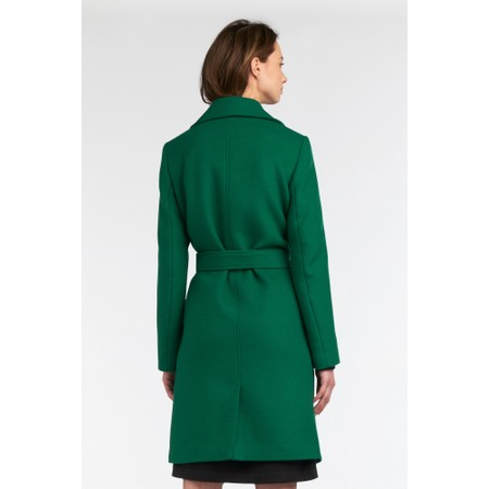 Sandwich Clothing Classic Wool Coat - Green