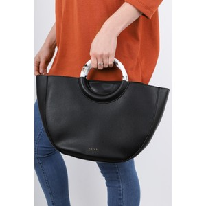 Inyati Georgia Faux Leather Half Moon Tote Bag