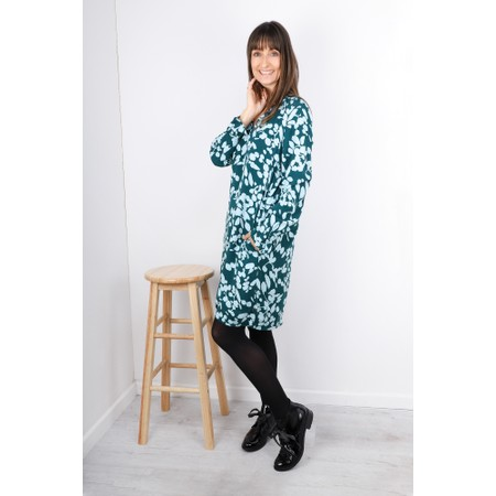 Sandwich Clothing Bold Floral Print Dress - Green