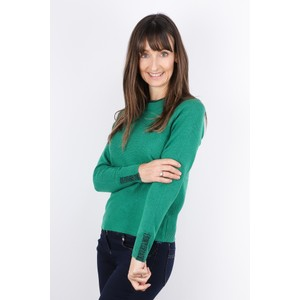 Sandwich Clothing Round Neck Detail Jumper