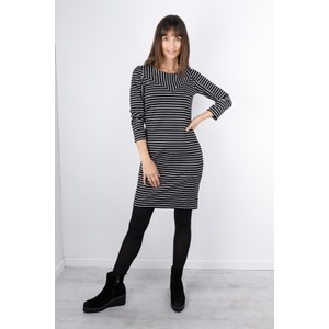 Sandwich Clothing Striped Print Jersey Dress