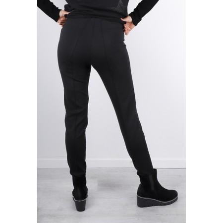 Lauren Vidal Kate Slim Leg Trousers - Black