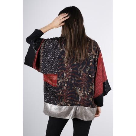 Lauren Vidal Cooper Multi Print Kimono - Multicoloured