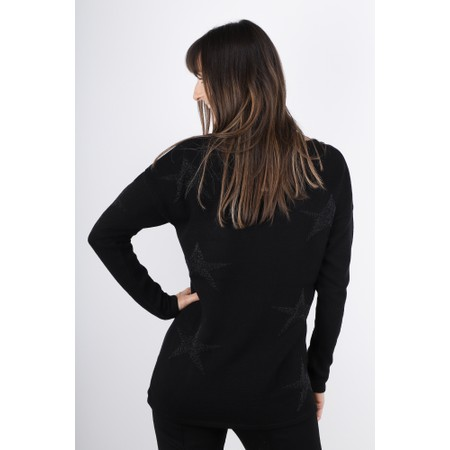 Lauren Vidal Recif V-neck Jumper - Black