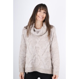 Lauren Vidal Nola Roll Neck Jumper