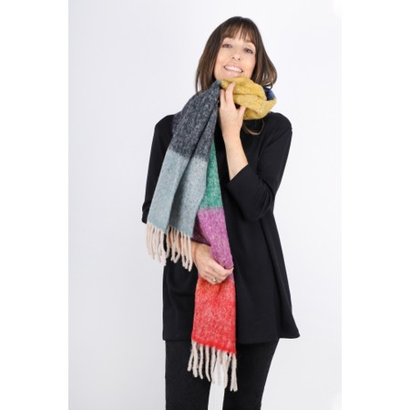 BeckSondergaard Ibbi Block Colour Scarf - Multicoloured