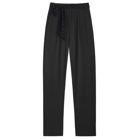Sandwich Clothing Ankle Length Jersey Trousers - Black
