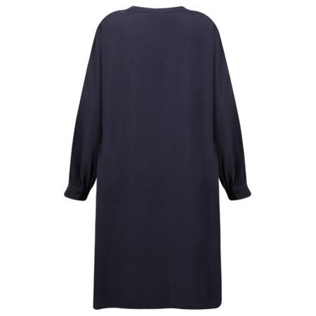 Masai Clothing Nelly Shirt Dress - Blue